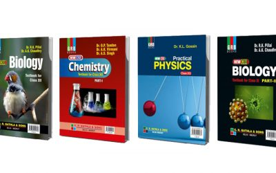 Best Physics, Chemistry and Biology Books For CBSE Class 11 and 12